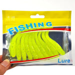 10Pcs/Lot Lures Soft Bait