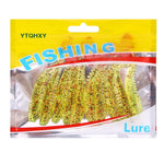 10pcs/lot Shad Worm Fishing Lures