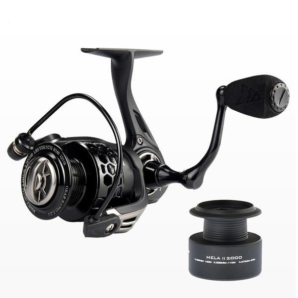 KastKing Mela II Upgrading Carbon Fiber Drag Spinning Reel