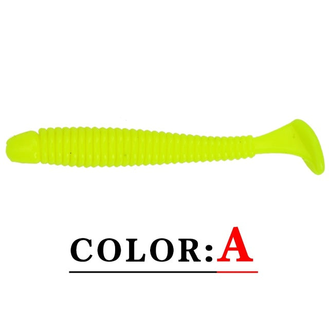 10pcs Soft Bait Fishing Lure
