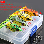 4pcs/box Frog Fishing Lures Kit