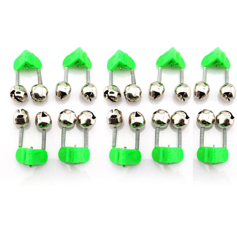 10Pcs Durable Fishing Bite Alarms