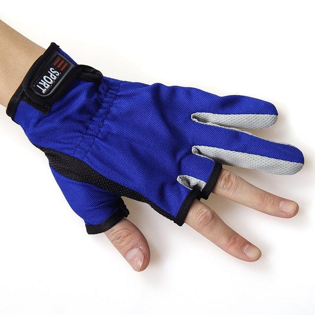 Anti Slip Fishing Gloves