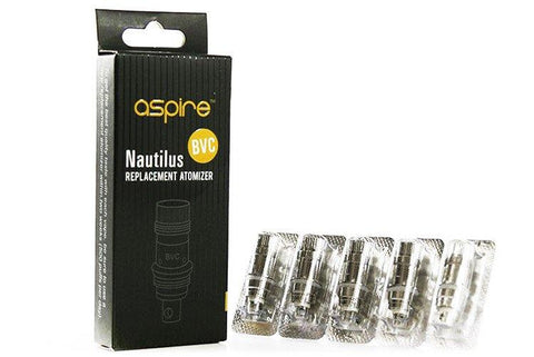 Aspire Nautilus Replacement Coils (5 Pack) - WholesaleVapor.com