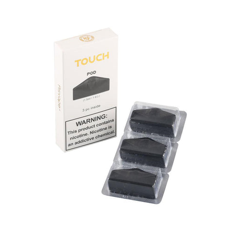 Asvape TOUCH Cartridge 1.5ml (3 Pack) - WholesaleVapor.com