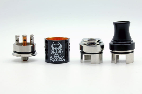 Baal RDA Carbon Fiber by CloudCig - WholesaleVapor.com