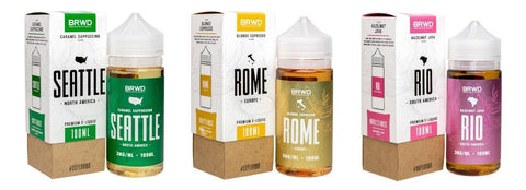 BRWD Eliquid 100ML - WholesaleVapor.com