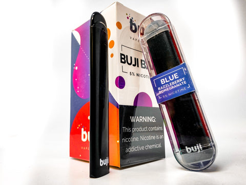 Buji Bars Slim 10 Pack - Flavored Disposable Vape Ecig #1 Top Selling - WholesaleVapor.com