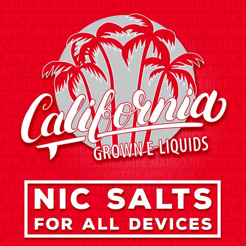 California Grown Eliquids - 60ml - WholesaleVapor.com