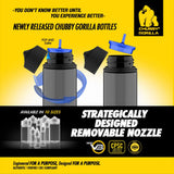 Chubby Gorilla V3 PET Unicorn Bottles - 120ml - 400 Unit Case - WholesaleVapor.com