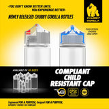 Chubby Gorilla V3 PET Unicorn Bottles - 30ml - Stubby - (1,000 units per case) - WholesaleVapor.com