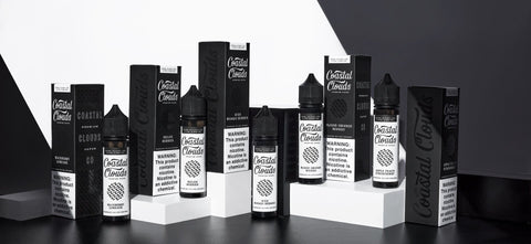 Coastal Clouds Eliquid 60ml ** Expanded Flavor Line** - WholesaleVapor.com