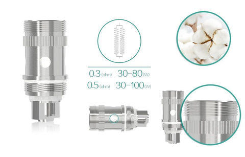 eLeaf EC Head Coils (5 pack) - WholesaleVapor.com