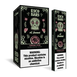 Esco Bar Disposables 5% (Sold Individually) - WholesaleVapor.com