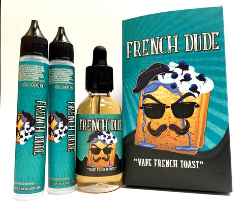 French Dude 60ml - WholesaleVapor.com