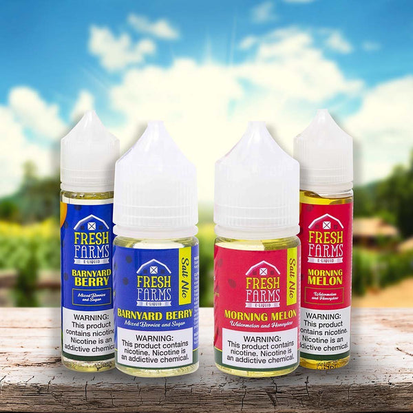 Fresh Farms Salt Nic 30ml - WholesaleVapor.com