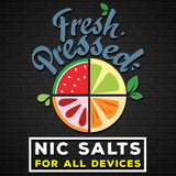 Fresh Pressed Sub Ohm SALT Eliquid 60ml - WholesaleVapor.com
