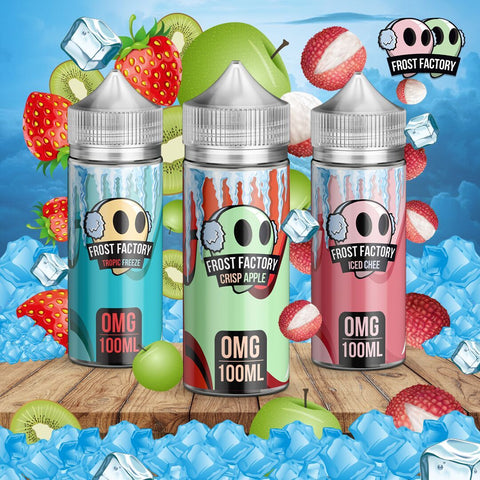 Frost Factory Eliquid by Air Factory 100ml - WholesaleVapor.com