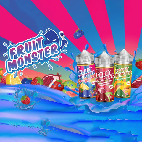 Fruit Monster Eliquid 100ml - WholesaleVapor.com