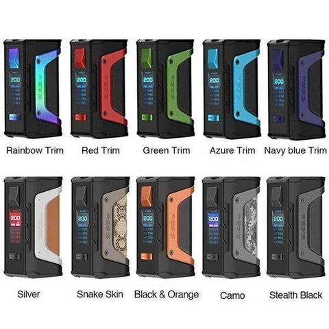 Geek Vape Aegis Legend 200W TC Box Mod - New Colors - WholesaleVapor.com