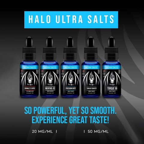 Halo Ultra Salts 30ml - WholesaleVapor.com