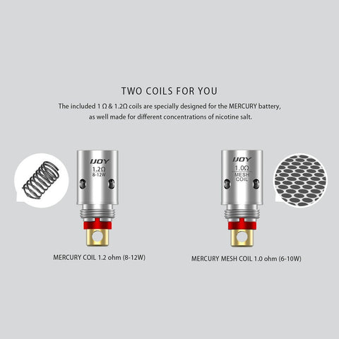 Ijoy MERCURY Replacement Coils- 5 Pack - Clearance - WholesaleVapor.com