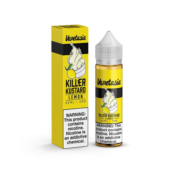 Killer Kustard Lemon by Vapetasia 60ml - WholesaleVapor.com