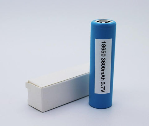 LG 18650 M36 3600mAh 10A Flat Top Battery (Single Battery) - WholesaleVapor.com