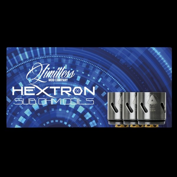 Limitless Hextron Replacement Coils (3 Pack) - WholesaleVapor.com
