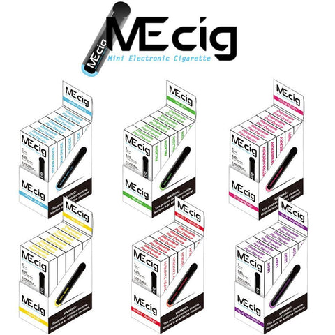 MeCig Disposables Ecigs (5 pack) - WholesaleVapor.com