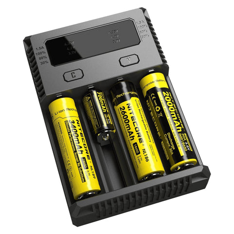 Nitecore New i4 Intellicharger - WholesaleVapor.com