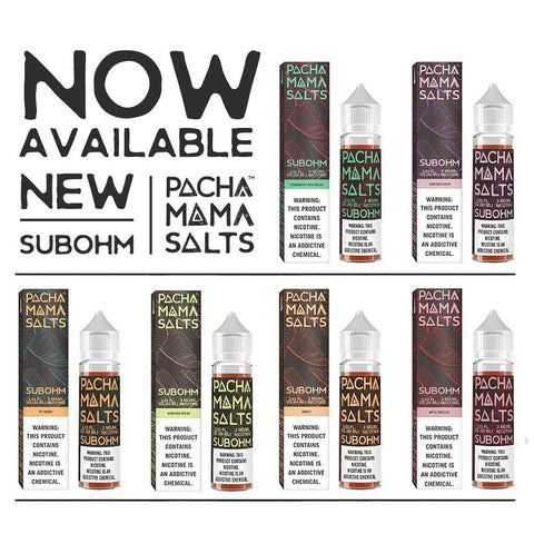 Pachamama Sub Ohm SALT Eliquid 60ml - WholesaleVapor.com