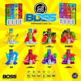 Puff BOSS Bar Disposable 5% - 1500 Puff - WholesaleVapor.com