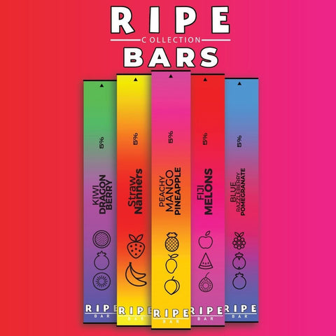 Ripe Bar Disposable Singles - 5% ( New Lower Price ) - WholesaleVapor.com