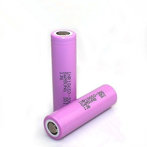 Samsung 30Q Battery 15A 3000mAh Flat Top - WholesaleVapor.com