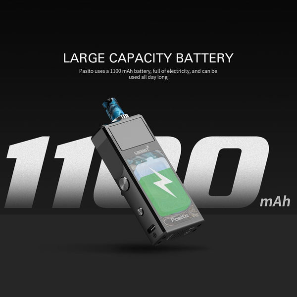Smoant Pasito Pod Starter Kit - New Colors - WholesaleVapor.com