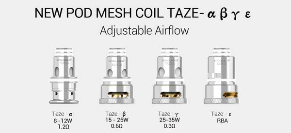 Snowwolf Taze Replacement Coils (5 Pack) - WholesaleVapor.com