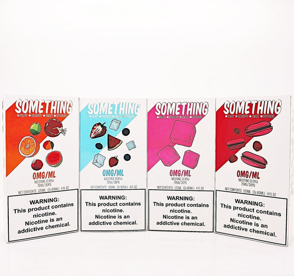 SOMETHING Eliquid by Rounds 120ml - WholesaleVapor.com