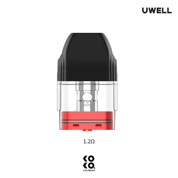 Uwell Caliburn Koko Replacement Cartridge (4 Pack) - WholesaleVapor.com