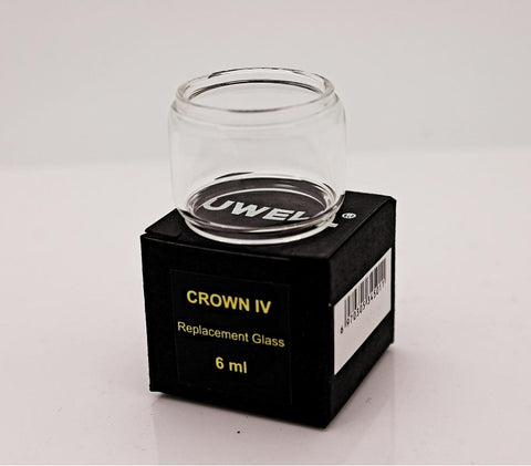 Uwell Crown 4 (IV) Bulb Glass Tube (6ml) - WholesaleVapor.com
