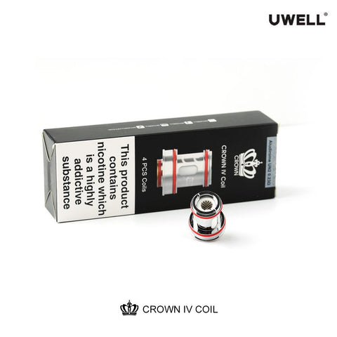Uwell Crown 4 (IV) Replacement Coils - 4 Pack - WholesaleVapor.com