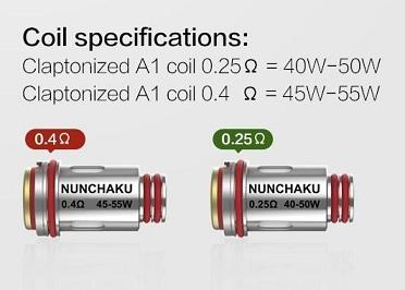 Uwell Nunchaku Replacement Coils (4 Pack) - WholesaleVapor.com