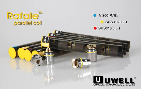 Uwell Rafale Coils - 4 Pack (All Options) - WholesaleVapor.com