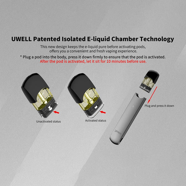 Uwell YEARN Pod System (Battery Only) - WholesaleVapor.com