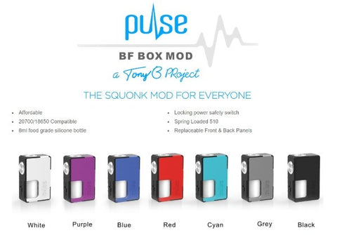 Vandy Vape Pulse BF Starter Kit - WholesaleVapor.com