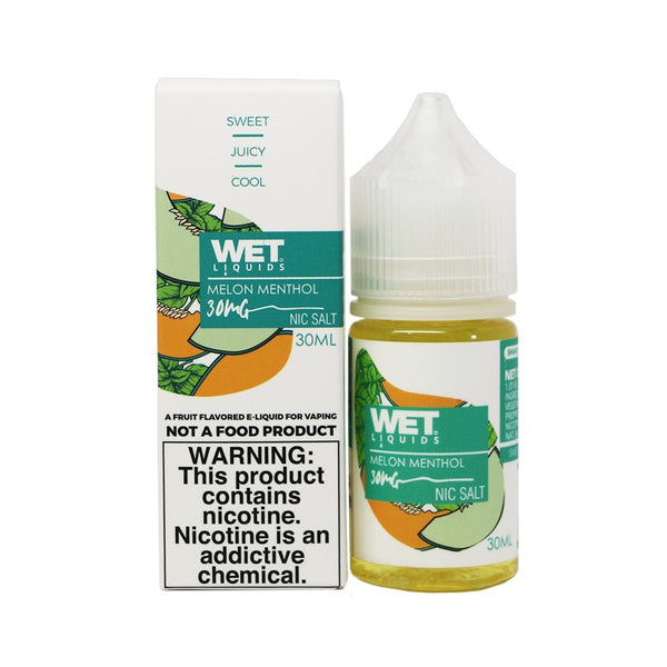 WET Salts Eliquid 30ml - WholesaleVapor.com