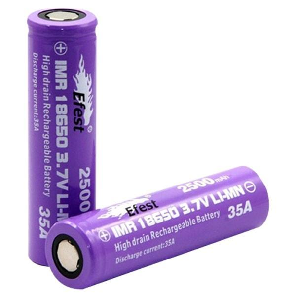 Wholesale Vapor Efest 2500 35A 18650 Battery