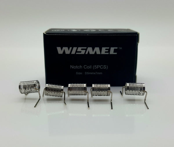 Wismec Notch Coils (5 pack) - WholesaleVapor.com
