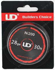 Youde UD Ni200 Nickel Wire 30ft - WholesaleVapor.com