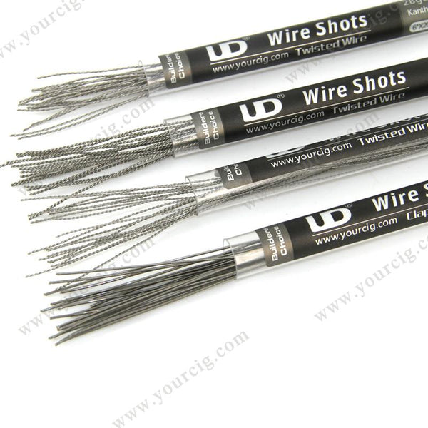 Youde UD Wire Shots Twisted Wire 20 pcs (3 styles) - WholesaleVapor.com